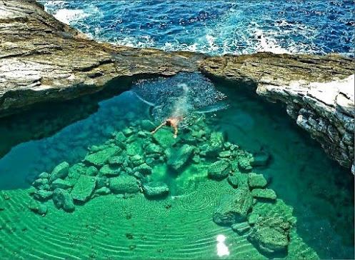 Thassos-greeceSantorini Greece, Islands, The Village, Natural Swimming Pools, Giola Lagoon, Natural Pools, Places, Maui Hawaii, Nature Pools