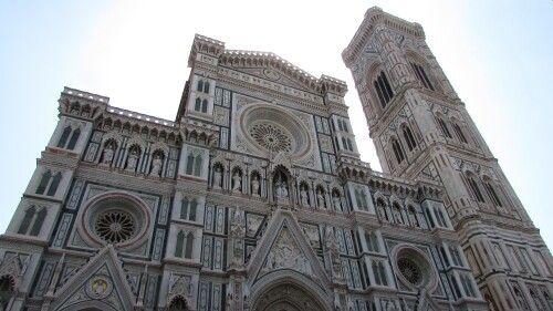 La facciata del Duomo di Firenze