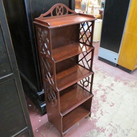 Sold 175 Vintage Antique Small Mahogany Bookcase C 1940 Four Shelf Mahogany Bookcase Use
