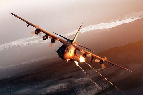 AC-130 Spectre Gunship - Death From Above