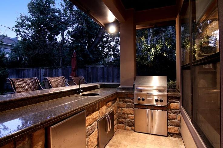 future backyard grill.  next house
