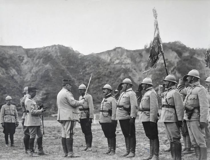 French-Romanian relations in World War I (1914-1918).
