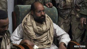Gaddafi son Saif al-Islam 'may be tried in Libya'