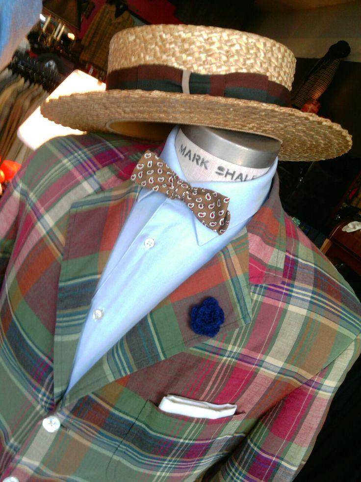 richardsfabulousfinds: Vintage Raphael Lauren madras jacket