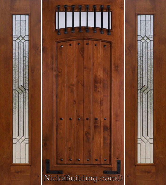 49 Best Images About Alder Doors On Pinterest Rustic