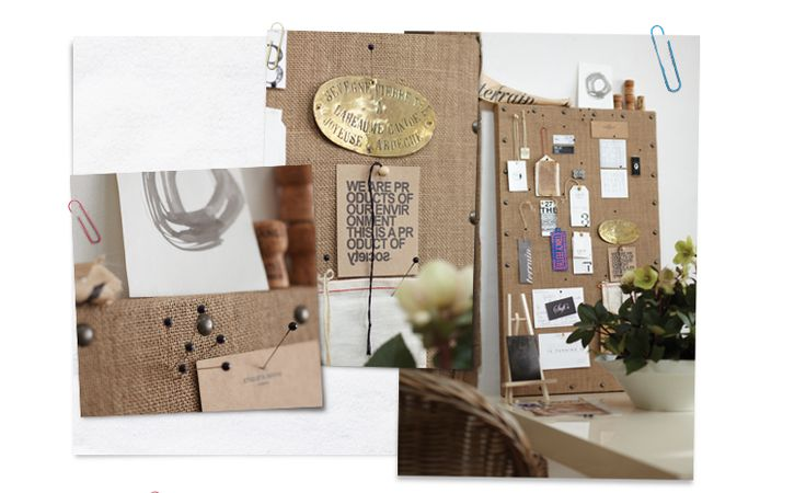 Clever Corkboards, by Jill Sharp Brinson | How To Decorate