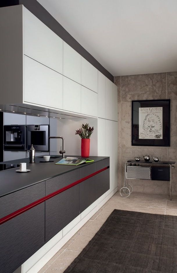 Нижние шкафчики кухни