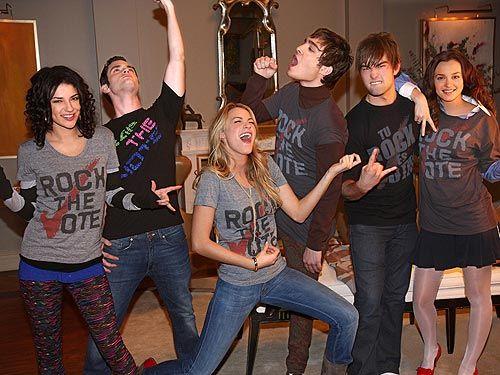 Rock the Vote. Gossip Girl!