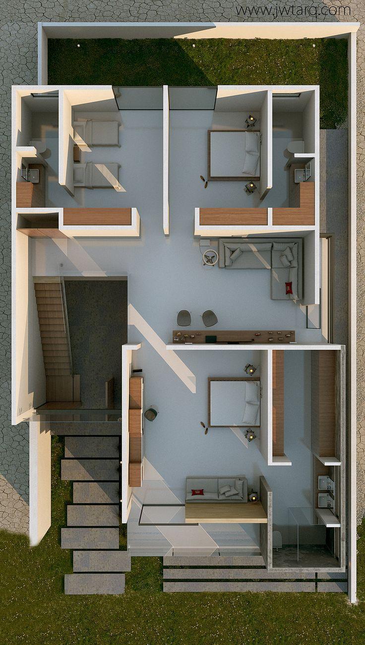 JWTARQ | Arquitectura | Proyectos | casa 80 esp