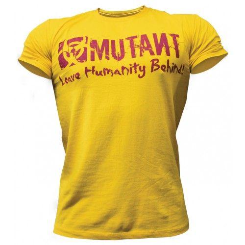 Mutant Logo T-Shirt (Yellow)