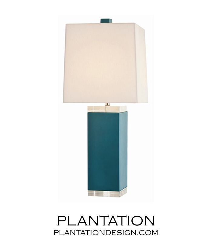 $750 PLANTATION | Mediterranean Table Lamp