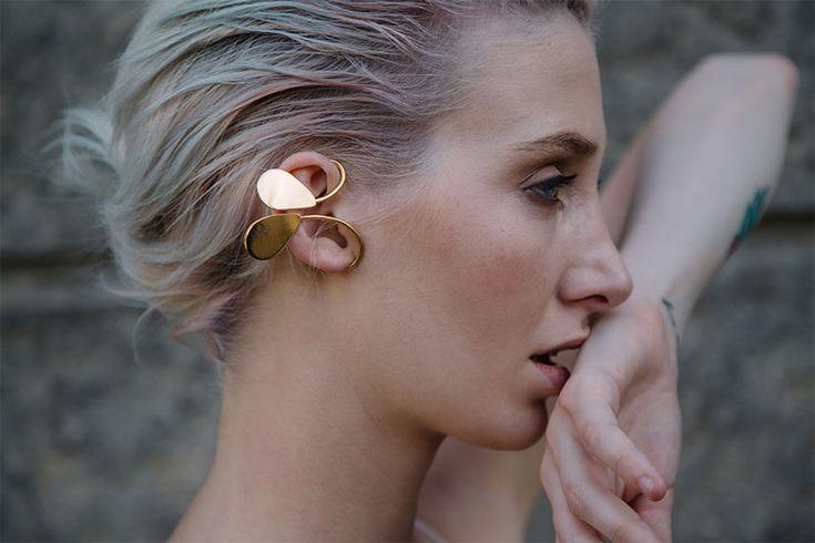 petals ear cuff #rivajewels #earcuffandmore #flowercollection