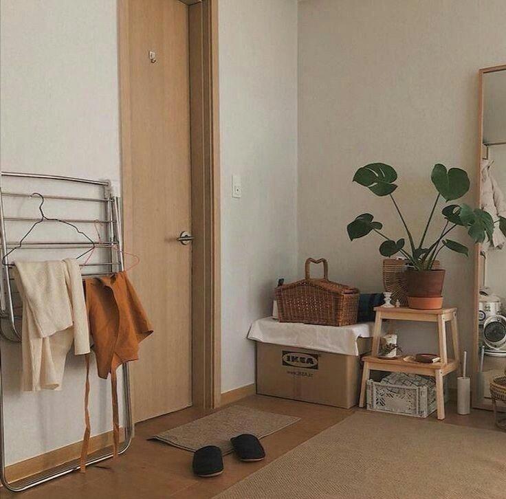 korean living room dining room decor aesthetic seoul beige