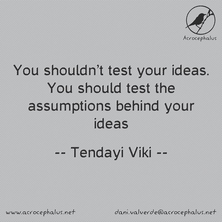 Are you sure that the problem are your ideas? #quotes #motivation #inspiration