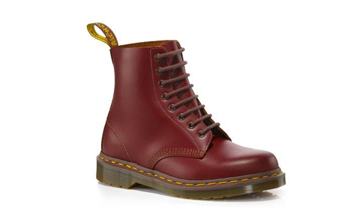 Dr Martens Vintage 1460 Boot OXBLOOD Quilon - Doc Martens Bottes et chaussures