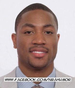 Whoa! Is this Derrick Rose or Dwyane Wade?