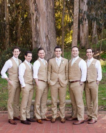 Fetching groomsmen in @J.Crew  suits