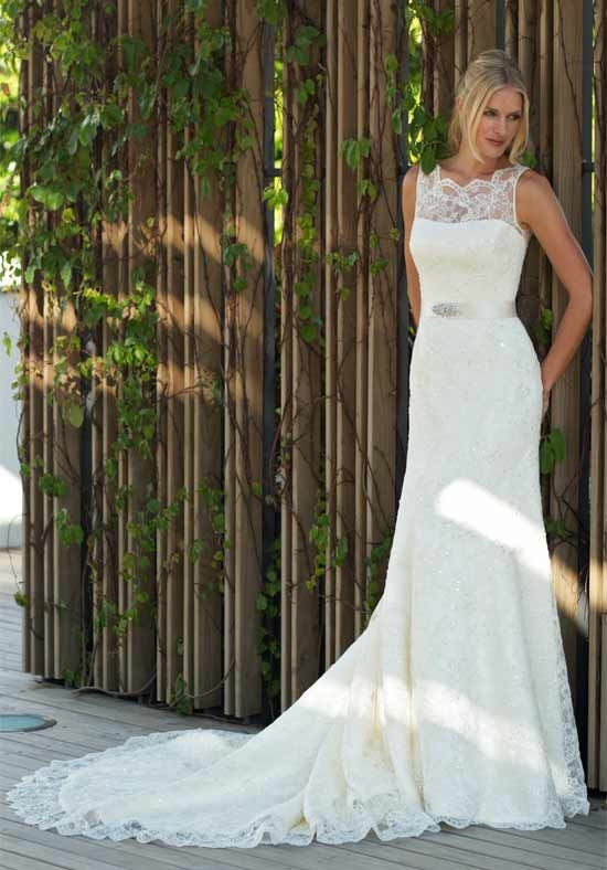 Augusta Jones style Ali available at Nicole Bridal & Formal in Jenkintown, PA; 215-886-2333, www.nicolebridal.com