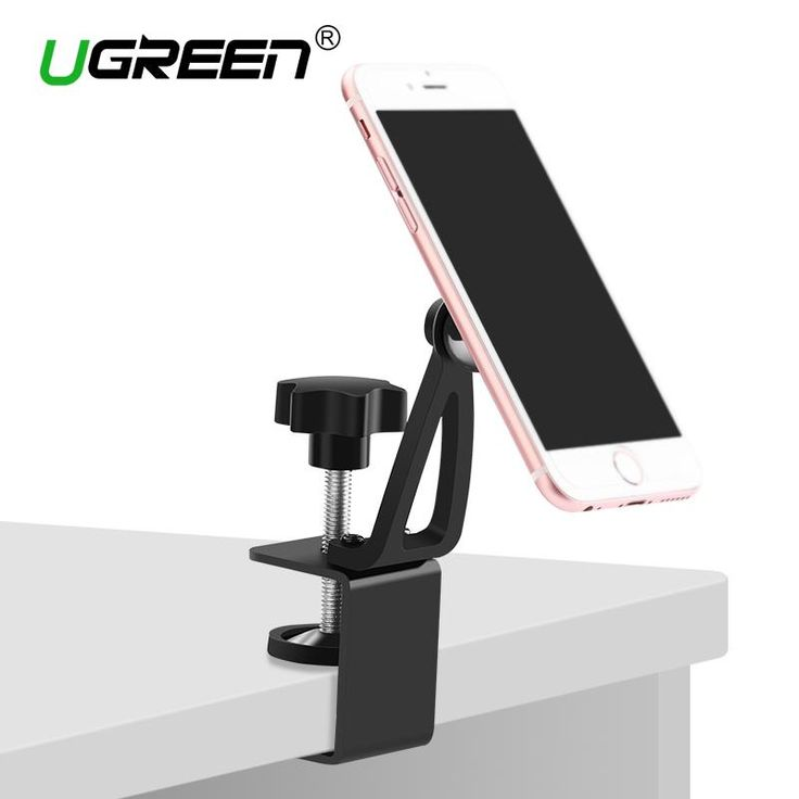 Ugreen Universal Magnet Phone Holder 360 Dgreen Rotation Magnetic Desk Phone Stand Mount for iPhone 7 6 Plus/5s/5 Samsung Tablet
