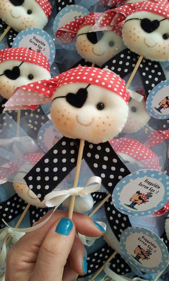melegineli- bebek şekerleri, hastane odası süslemesi