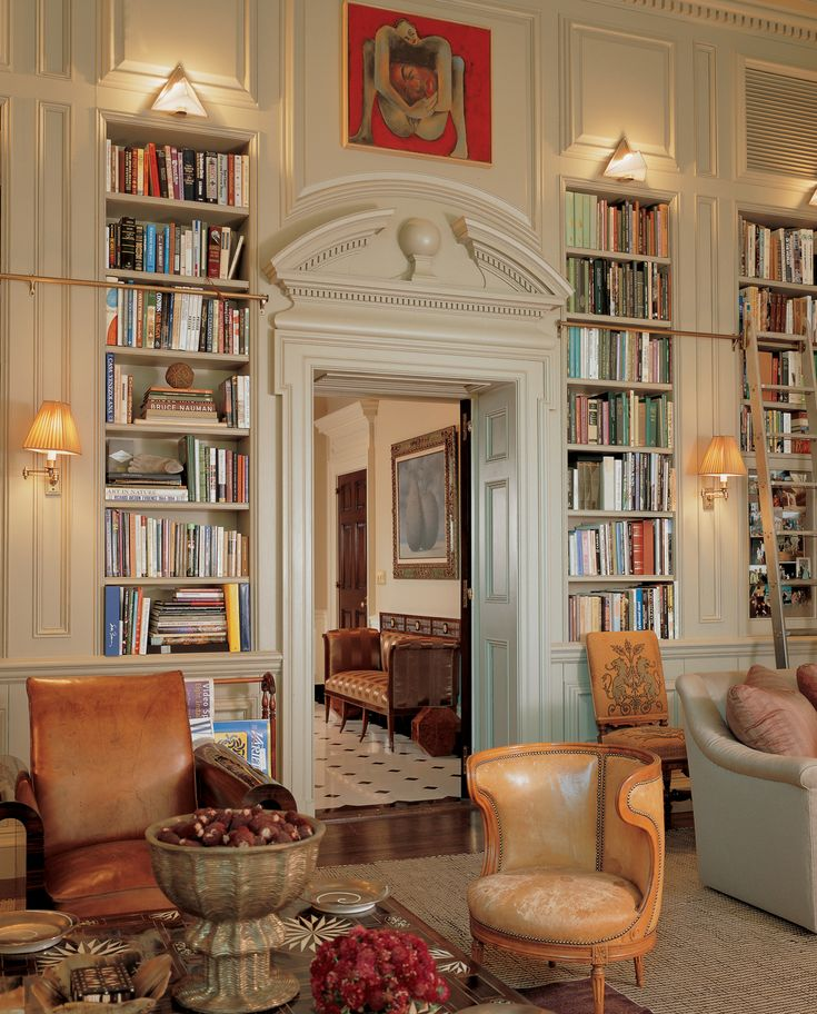 Bunny Williams home library