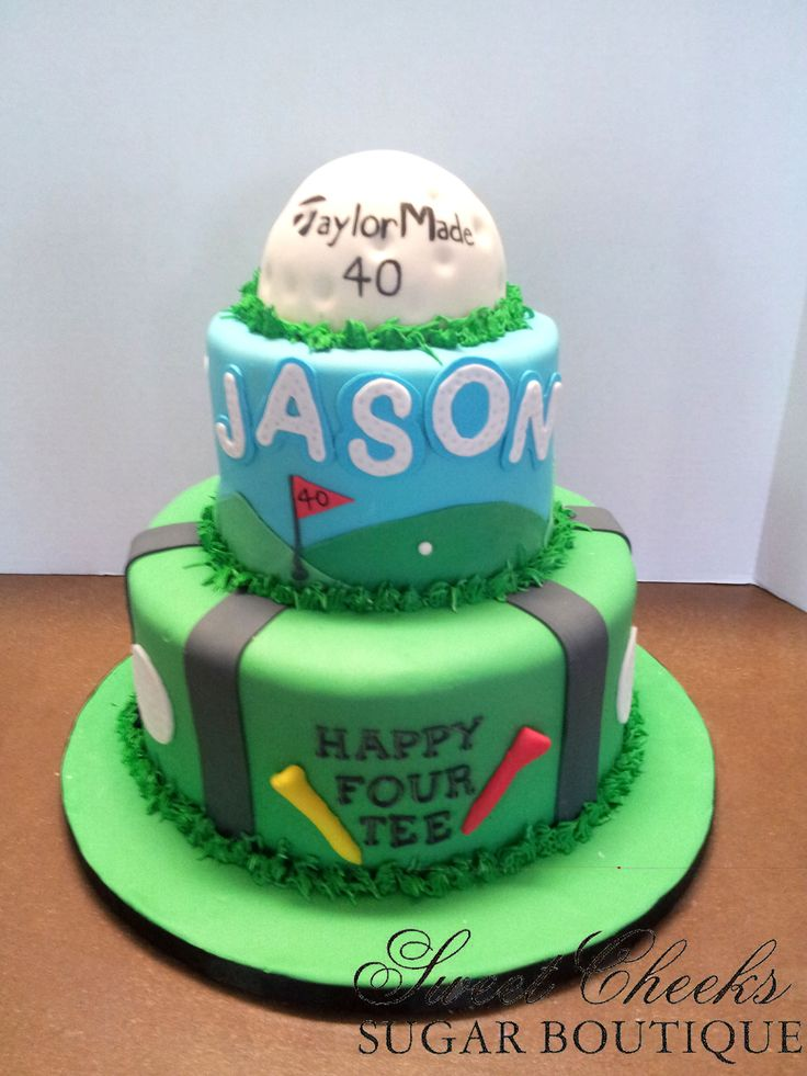 83 Best Images About Golf Cake Cupcake Ideas On Pinterest