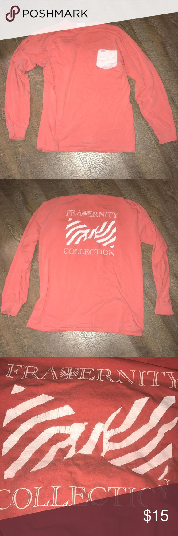 Fraternity Collection T-Shirt Back of t-shirt has some wear to it Fraternity Collection Shirts Tees - Long Sleeve