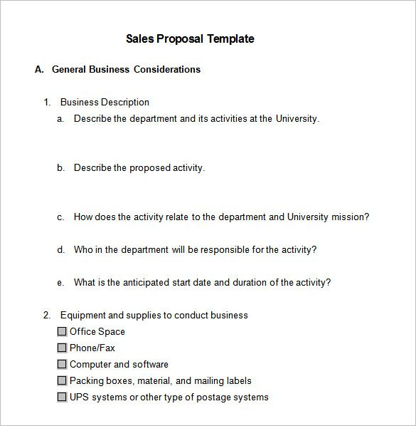 sales proposal template free sample example format download business word pdf documents