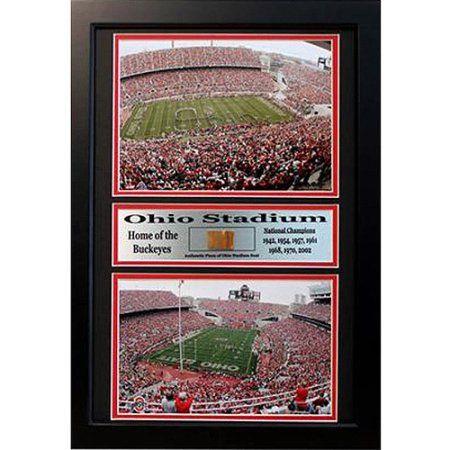 Ncaa Ohio State Game Used Frame, 12x18
