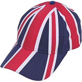 Union Jack Baseball Cap GB UJ Flag Olympics Diamond Jubilee Souvenir Gift Football Rugby