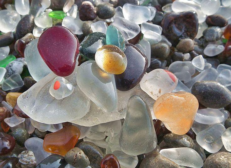 Sea Glass, Fort Bragg, California