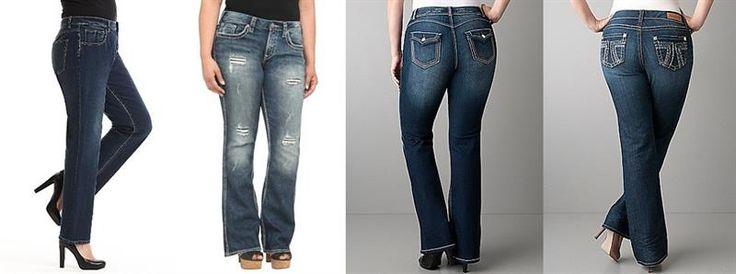 Как должны сидеть джинсы стрейч