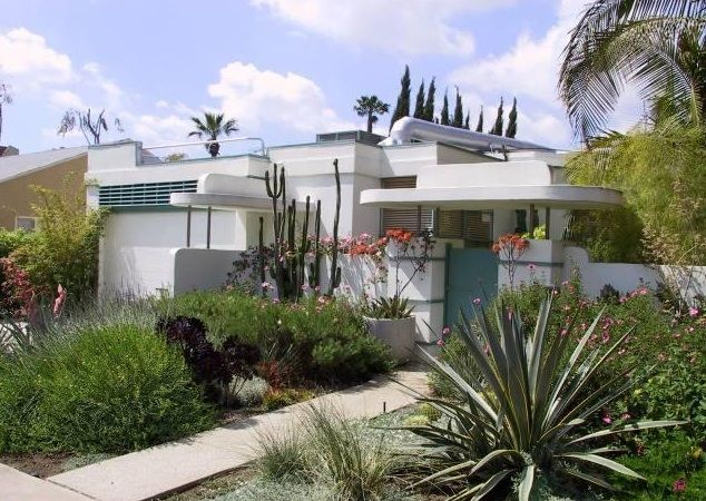 Wallace Beery House (William Kesling, 1936) 947 N Martel Ave, West Hollywood