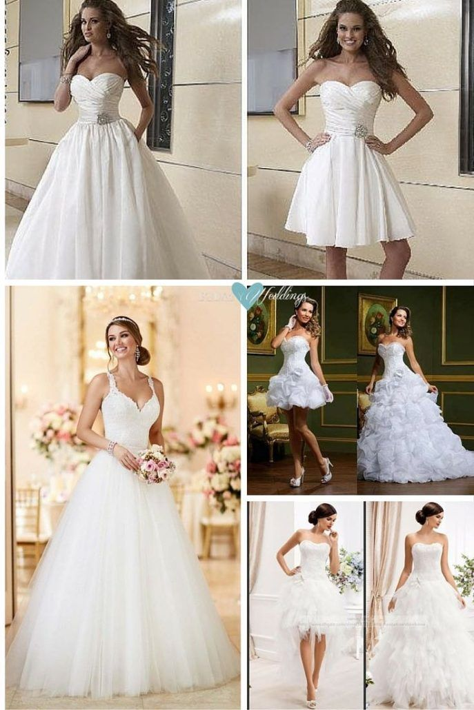 vestidos de novia desmontables, magia, belleza y practicidad | bodas