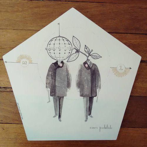 """ Amor prohibido "" posa calientes pieza única #Himallineishon #homedecor #illustration #handpainted #art"