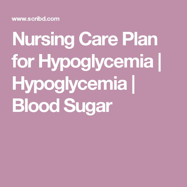 Guidelines for Hypoglycemia in Diabetes ADA/Endocrine ...