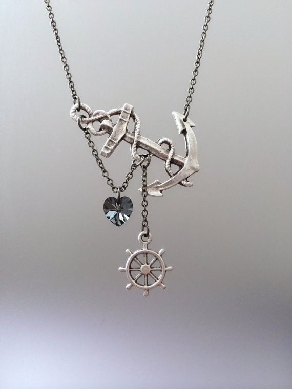 *This necklace is Made to Order Your necklace will look just like the one pictured with exception to handmade details~antique silver on