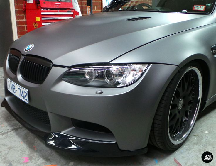 Punch Buggy Volkswagen >> Matte Grey Metallic - Decently Exposed | AutoSkin #Avery #MatteGrey #BMW #M3 | Vehicle Wrap ...