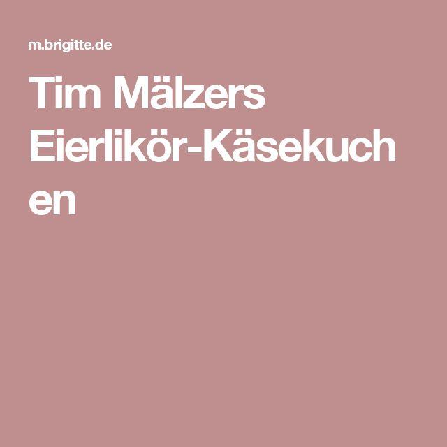 Tim Mälzers Eierlikör-Käsekuchen