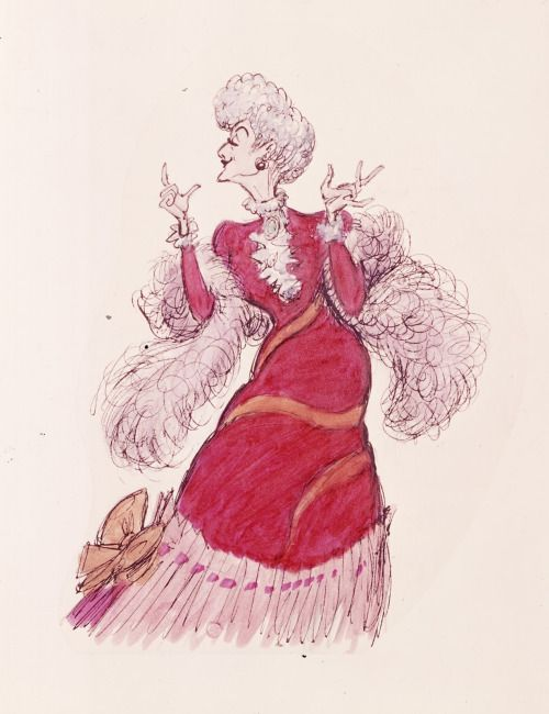 Character Design from The Aristocats by Ken Anderson
