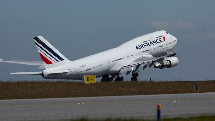 Un dernier vol de prestige à bord du Boeing 747 d'Air France. © Air France.