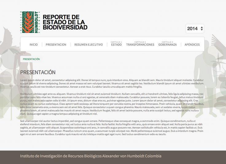 Biodiversidad 2014: Estado y tendencias de la biodiversidad continental de Colombia