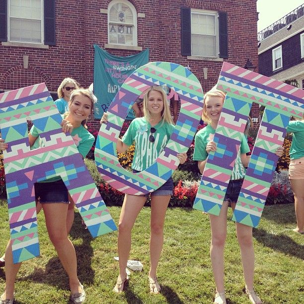 alpha omicron pi at university of nebraska alphaomicronpi aoii bidday letters