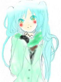 ... pretty miku ^-^