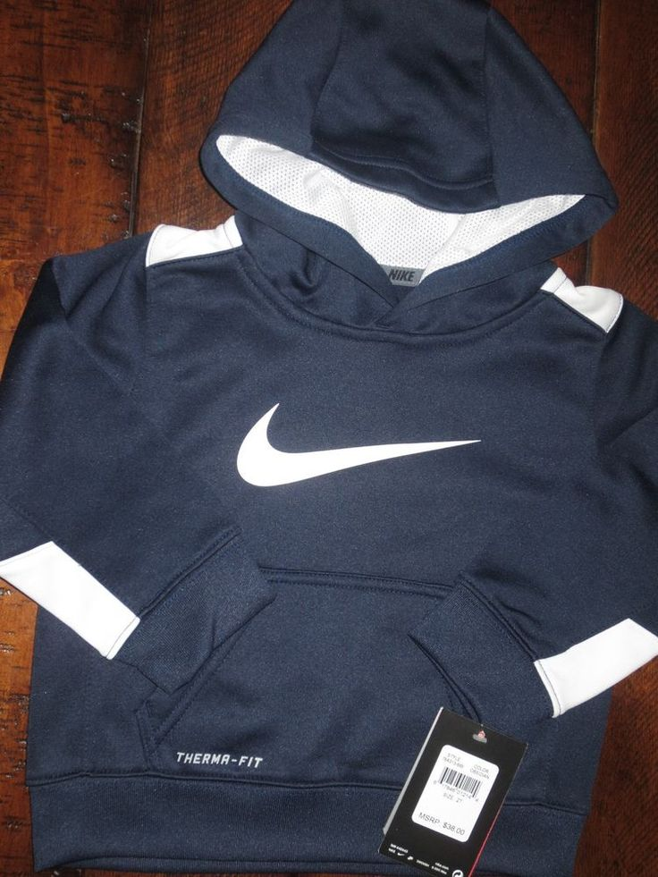 New Nike Therma Fit Toddler Boy S 2 2t Jacket Hoodie