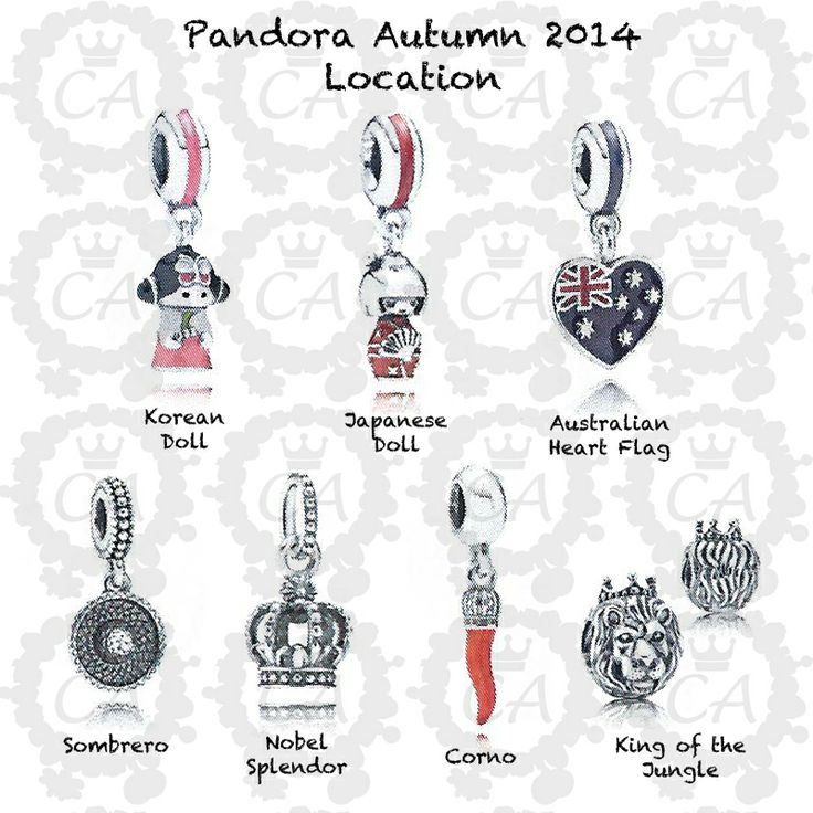 Charms Addict | Pandora Autumn 2014 Complete Preview