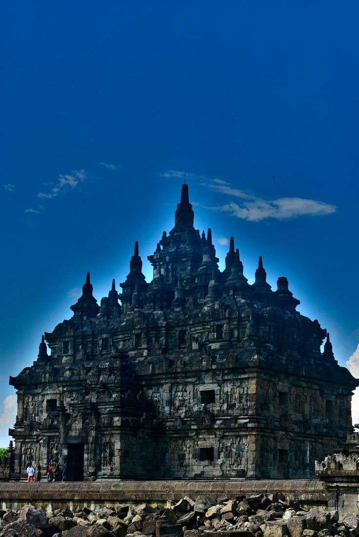 Temple of Candi Plaosan . Java
