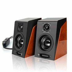 Universal 950 Creative Mini Dual Desktop Speakers For Laptop Tablet PCComputer