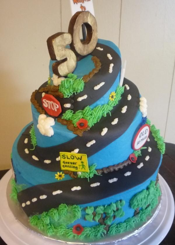 50th Birthday Cakes For Men Google Search 50th