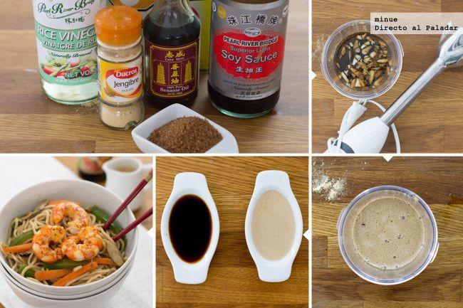 Salsa teriyaki con ingredientes más de andar por casa. No sabrá igual que la auténtica, pero hace el avío ;-)